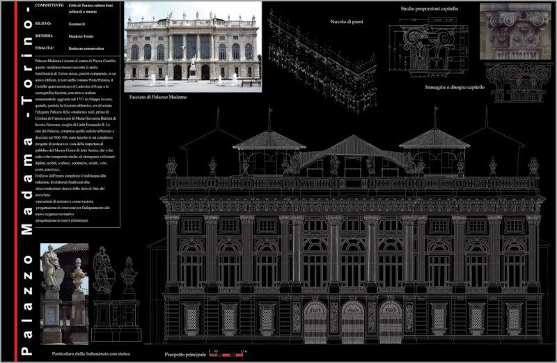 Rilievo Facciata – Palazzo Madama – Torino