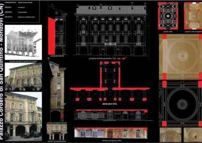 Rilievo laser scanner – Palazzo S.Quintino – Mondovì