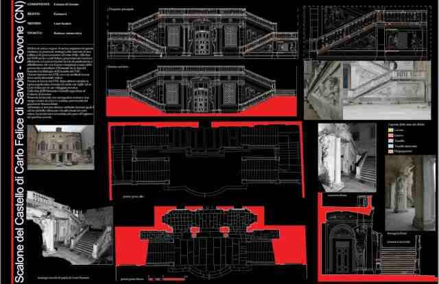 Rilievo laser scanner – Castello di Govone – Govone