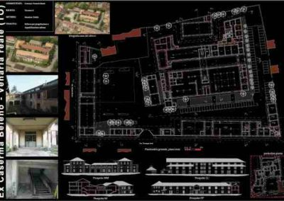 Rilievo laser scanner – Caserma Baleno – Venaria Reale