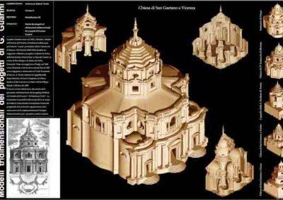Modello 3d – Progetti Guarino Guarini