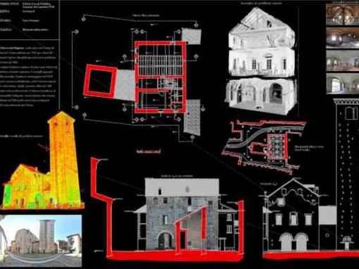 Rilievo laser scanner – Palazzo della regione – Cannobio