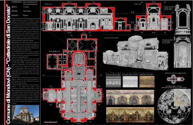 Rilievo laser scanner – Cattedrale di San Donato – Mondovì