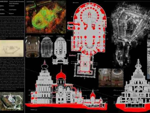 Rilievo laser scanner – New Jerusalem – Istra – Russia