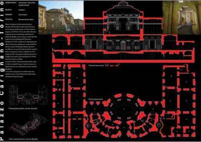 Rilievo Edificio – Palazzo Carignano – Torino