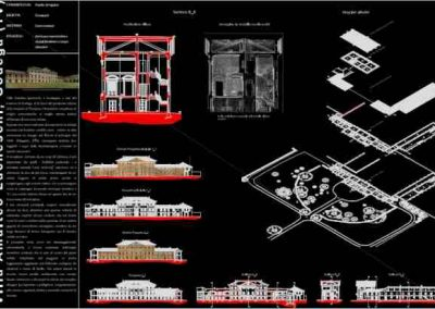 Rilievo laser scanner – Villa Luccheschi – Godega