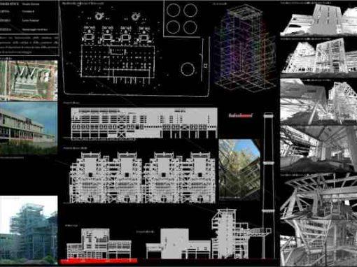 Rilievo laser scanner – Caldaia industriale – Porto Torres