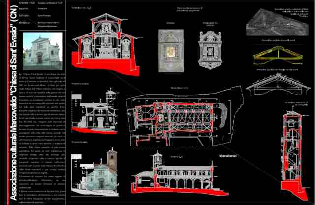 Rilievo laser scanner – Chiesa di Sant Evasio – Mondovì