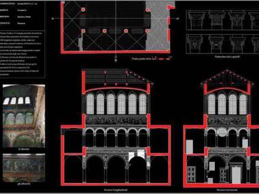 Rilievo edificio – Palazzo Centoris – Vercelli
